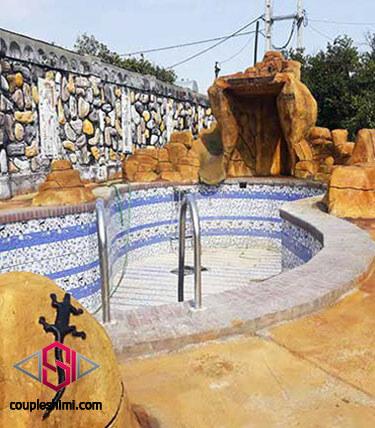 پروژه سطوح سیمانی رنگ شده با رنگ مایع بتن